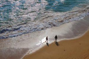 passeio na praia