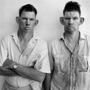 Roger Ballen: Dresie and Casie, Twins, Western Transval, 1993